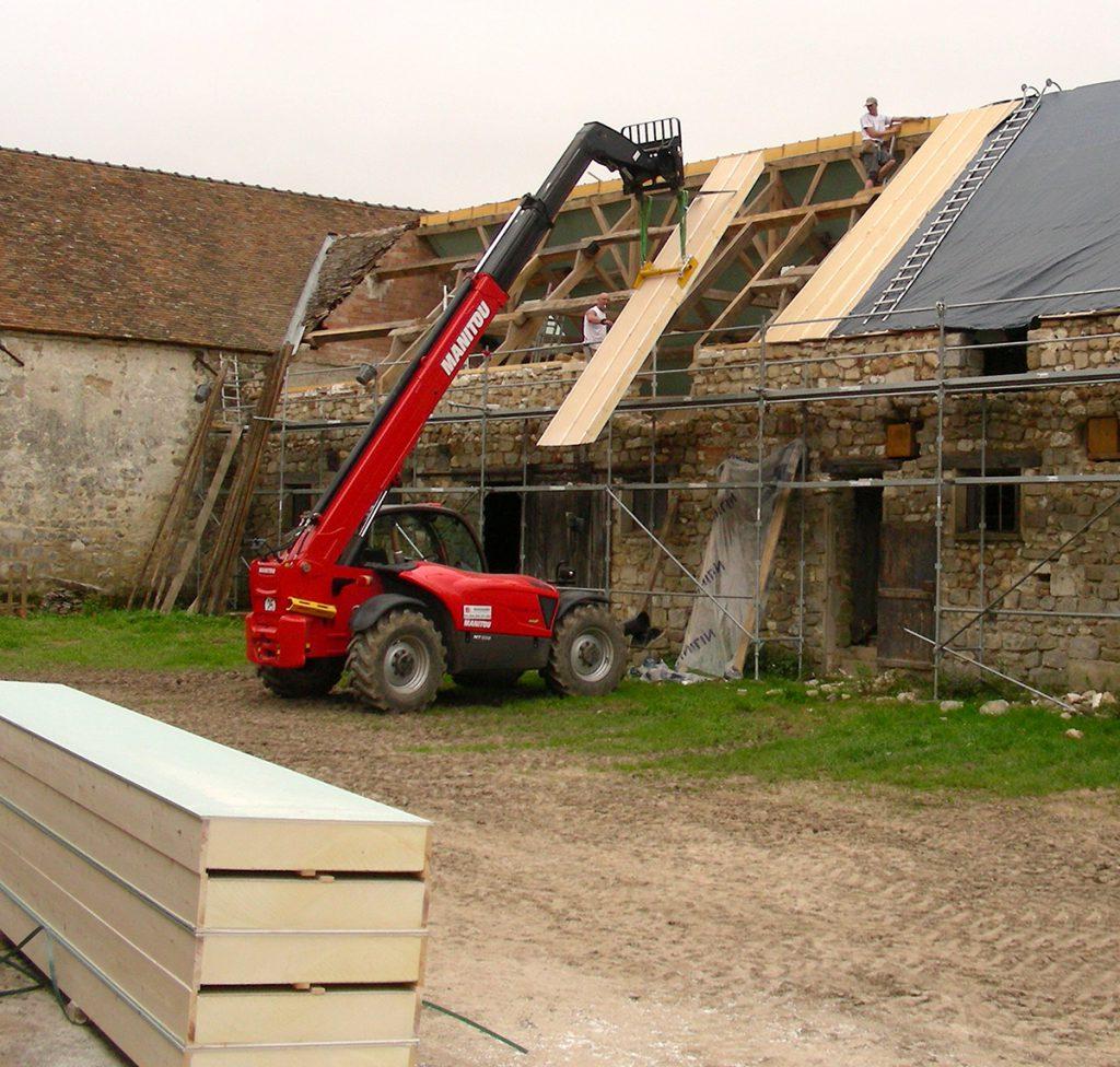 Couverture bertamini fils la r f rence de la couverture for Isolation toiture exterieur